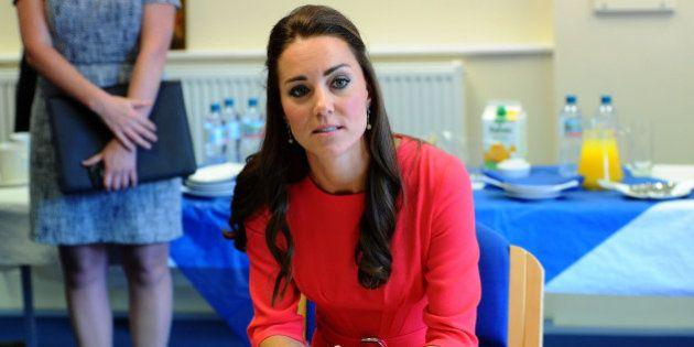 Kate Middleton enceinte: elle souffre à nouveau d'hyperemesis