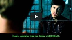 Des sous-titres humoristiques pour Greenpeace sur des films