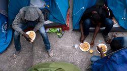 Deux campements de migrants évacués à Paris, dont celui près