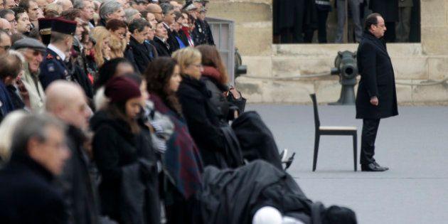 L'hommage national aux victimes du 13 novembre: derrière le deuil, une formidable ode à la