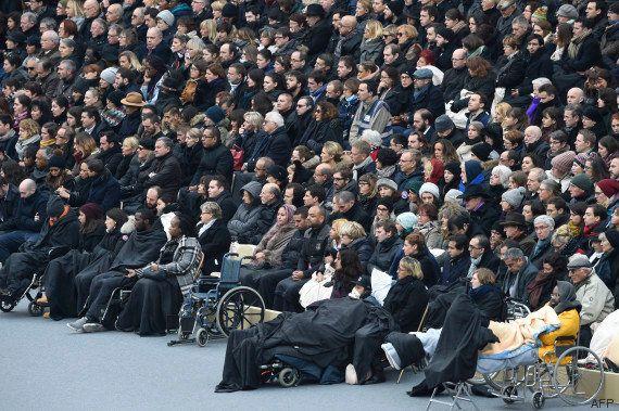 Des blessés des attentats de Paris présents à l'hommage