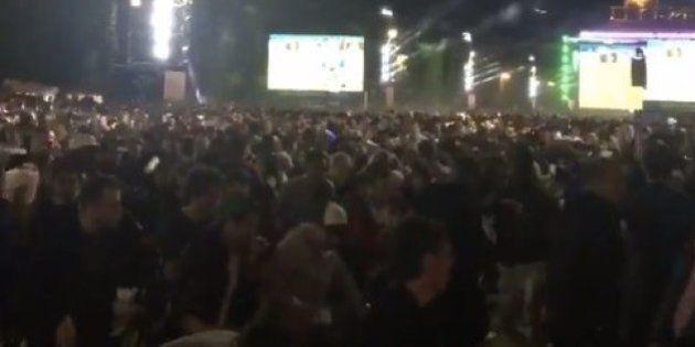 Mouvement de panique dans la fan zone de Paris lors de
