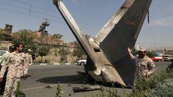 Iran: le crash d'un avion à Téhéran fait près de 50