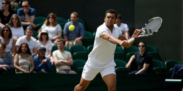 Britain Tennis - Wimbledon - All England Lawn Tennis & Croquet Club, Wimbledon, England - 3/7/16 France's...