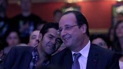 Hollande a improvisé une visite chez