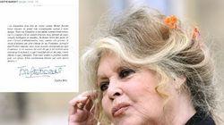 L'hommage de Bardot à Rocard, à qui elle écrivait autant