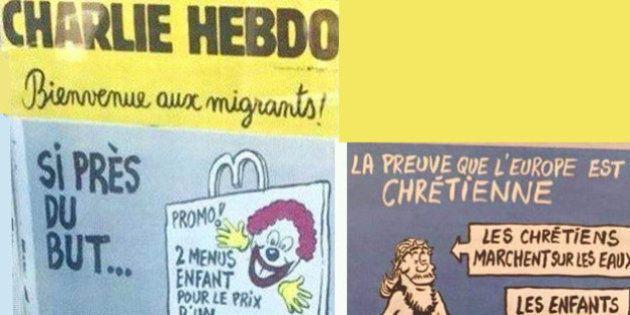 Charlie Hebdo: le rédacteur en chef défend les caricatures polémiques sur