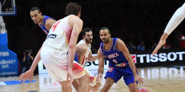 France-Espagne: les Bleus s'inclinent face à l'Espagne en demi-finale de l'Euro de basket au stade Pierre