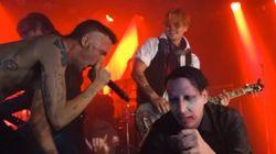 Johnny Depp, guitariste de Marilyn Manson d'un
