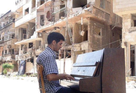 Journal d'un pianiste syrien sur le chemin de