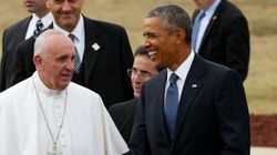 Première visite du pape François aux