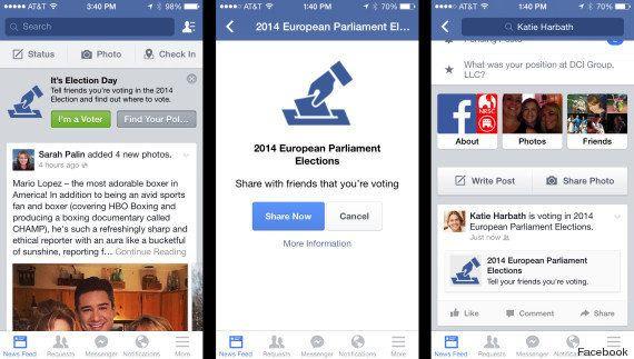 Facebook lance un bouton
