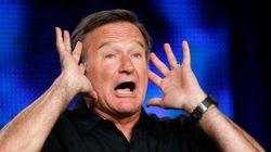 Robin Williams parlait très bien le français, surtout les gros