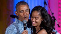 Obama en papa gênant pour les 18 ans de sa