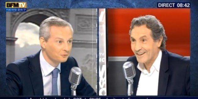 VIDEO - Bruno Le Maire a le charisme d'une huître?