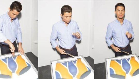 Cristiano Ronaldo mange son
