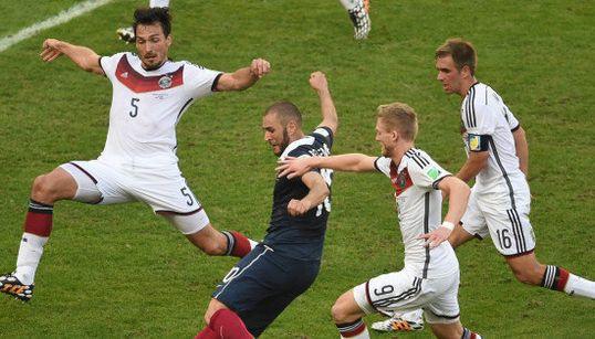 De Rio en 2014 à Marseille en 2016, la France et l'Allemagne ont bien