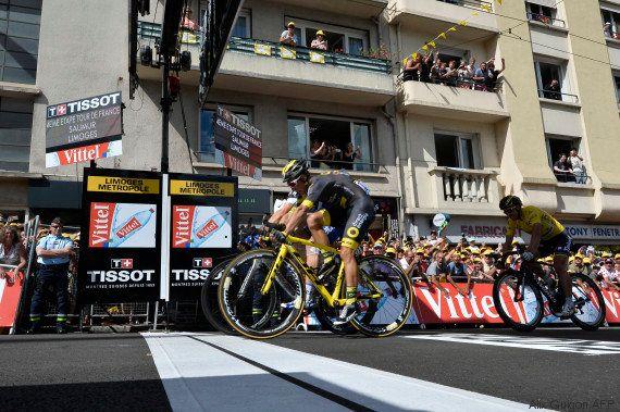 Au Tour de France, le Français Bryan Coquard a vu la victoire d'étape lui échapper d'un