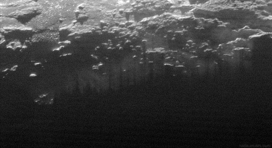 PHOTOS. Pluton: la sonde New Horizons de la NASA dévoile de nouveaux clichés