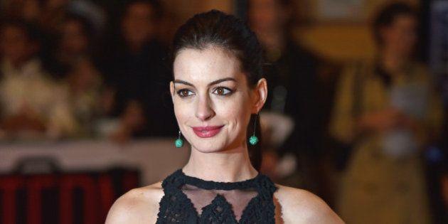 Anne Hathaway enceinte de son premier