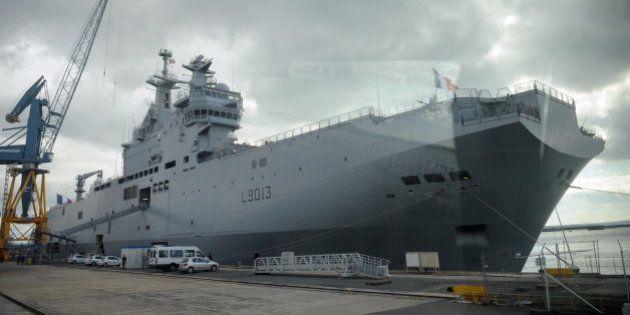 Mistral: l'Egypte va acheter les deux navires annonce
