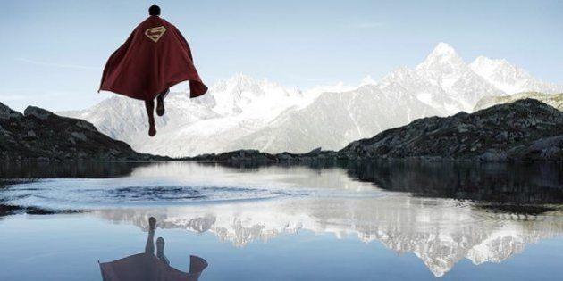 PHOTOS. Les super héros s'abandonnent à la