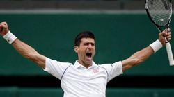 Wimbledon : Novak Djokovic a chuté pour mieux se