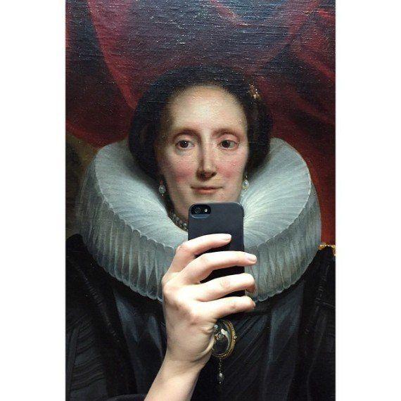 PHOTOS. Selfie: ces peintures se prennent en photo avec leur