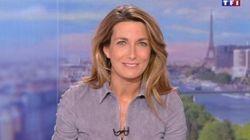 Anne-Claire Coudray plébiscitée pour son premier JT comme