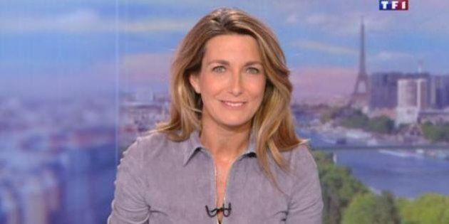 Anne-Claire Coudray: son premier JT comme titulaire a plu aux