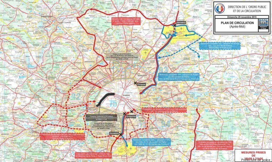 Le point sur les conditions de circulation à Paris avant l'ouverture de la