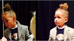 Le fils d'Alicia Keys défile pour Ralph