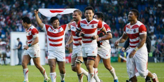 VIDÉO. Coupe du monde de rugby 2015: le Japon crée la sensation en battant l'Afrique du