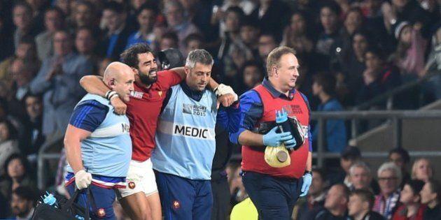 VIDÉOS. Coupe du monde de rugby : Yoann Huget forfait pour la suite de la compétition, remplacé par Rémy