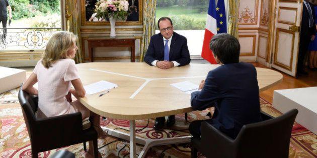 Interview du 14 juillet: Dr François et Mister Hollande en précampagne pour