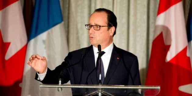 Barrage de Sivens: Hollande apporte son soutien à Royal mais rappelle que l'ouvrage