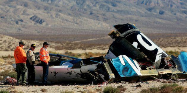 Crash du SpaceShipTwo de Virgin Galactic: l'enquête s'oriente vers le déblocage prématuré