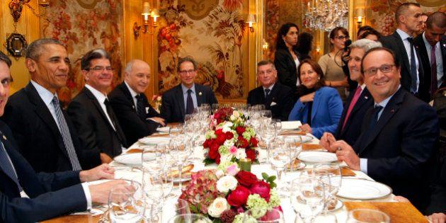 Pour le dîner, Obama et Hollande se retrouvent à l'Ambroisie, prestigieux restaurant