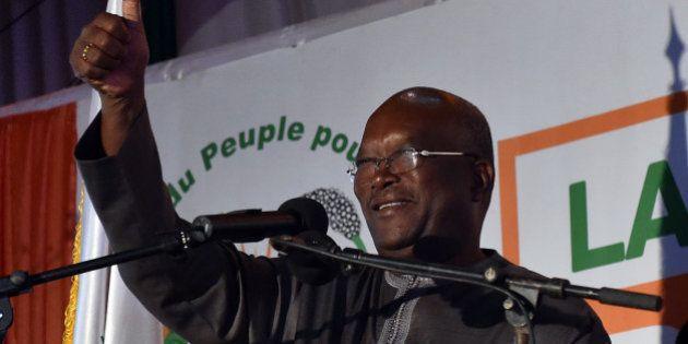 Roch Marc Christian Kaboré élu président du Burkina