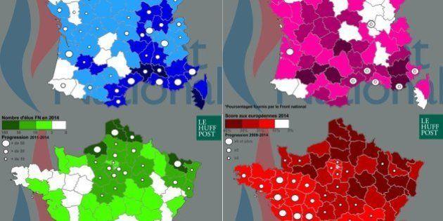 Front national: Marine Le Pen a nationalisé le FN en trois ans