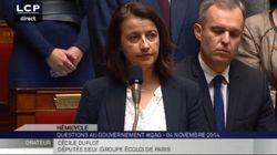 L'étonnante minute de silence qu'a voulu imposer Cécile Duflot à l'Assemblée