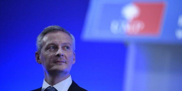 Présidence de l'UMP: Bruno Le Maire étrille Sarkozy sans le citer lors de son meeting à La