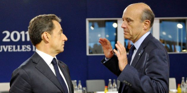 Alain Juppé désigne Nicolas Sarkozy comme son