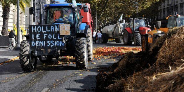 Manifestation des agriculteurs:
