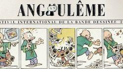 L'affiche d'Angoulême 2015 par le papa de Calvin &