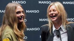 Cara Delevingne et Kate Moss se photographient entre elles dans des poses