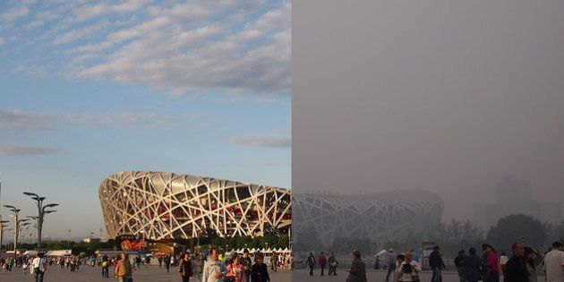 Beijing's National Stadium, better known