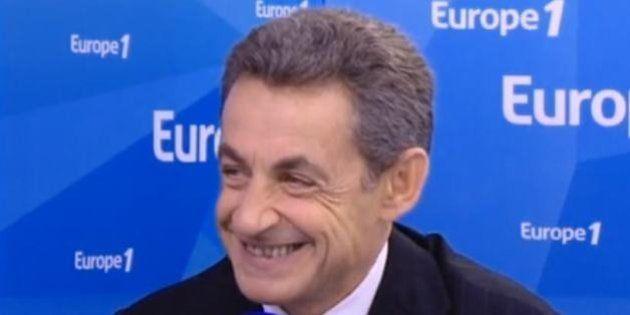 VIDEO - Le grand bluff de Nicolas Sarkozy sur Europe1 en 4