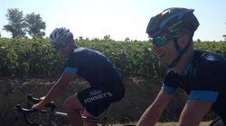 Lance Armstrong pédale aujourd'hui sur l'étape de