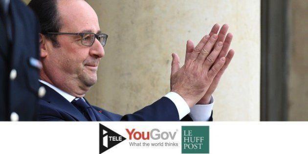 En hausse de 8 points, la popularité de Hollande remonte au niveau de début 2013 [BAROMETRE